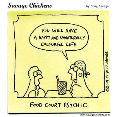 Savage Chickens - Divination