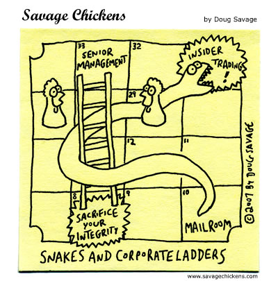 Savage Chickens - Snakes