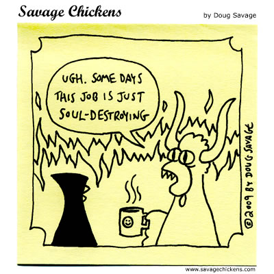 Savage Chickens - The Daily Grind