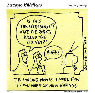 Savage Chickens - Twist Ending