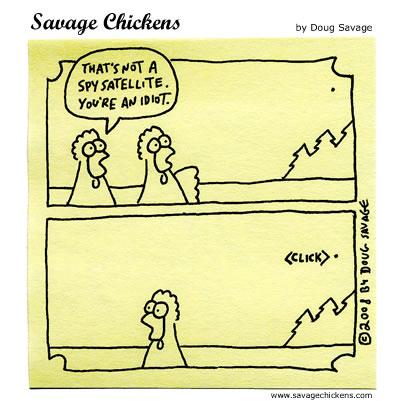 Savage Chickens - Paranoia