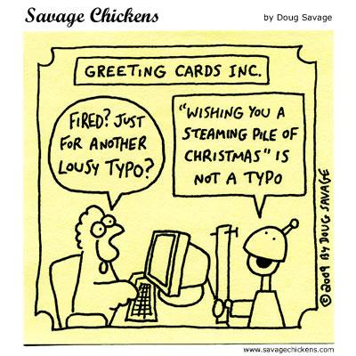Savage Chickens - Season's Greetings