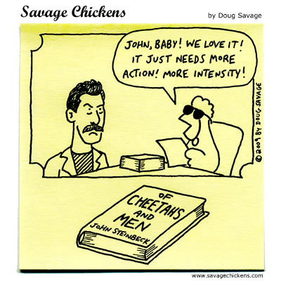 Savage Chickens - Steinbeck