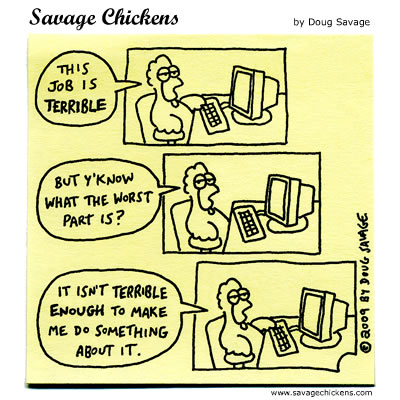 Savage Chickens - The Worst Part