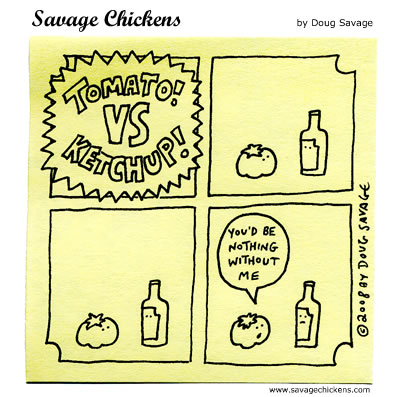 ketchup cat cartoons