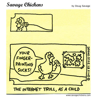Savage Chickens - Kindergarten
