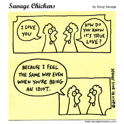 Savage Chickens - True Love