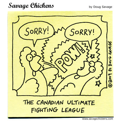Savage Chickens - Ultimate Fighting