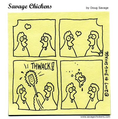 Savage Chickens - Unrequited Love