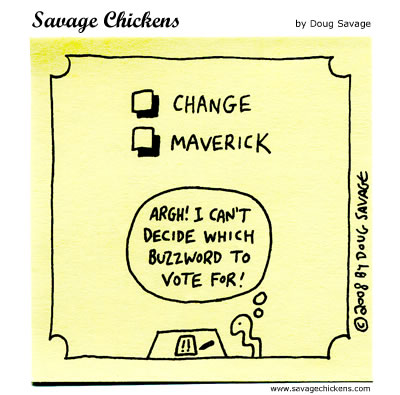 Savage Chickens - Vote