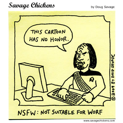 Savage Chickens - NSFW