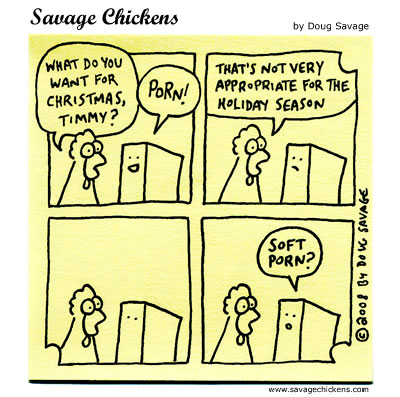 Savage Chickens - Naughty