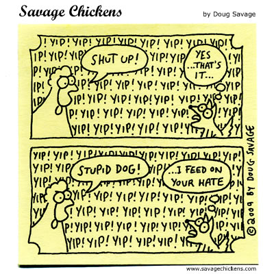 Savage Chickens - Yappy Dog