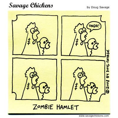 Savage Chickens - Infinite Jest