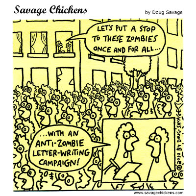 Savage Chickens - Time For Action