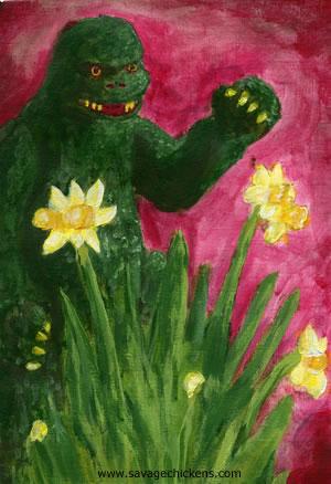 Godzilla in Spring