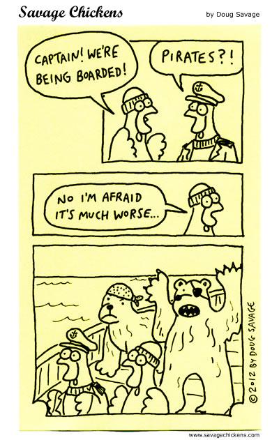 Dangers of the Ocean