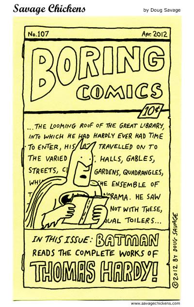 Boring Comics