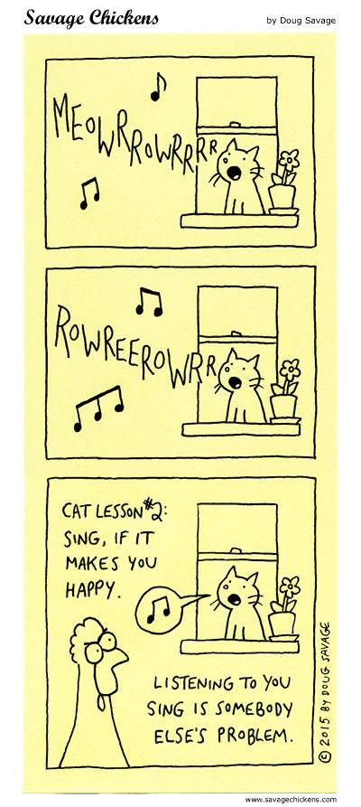 Cat Lesson #2