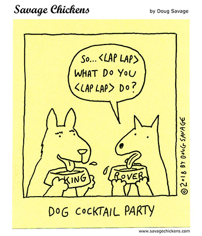 Drinks with Dogs