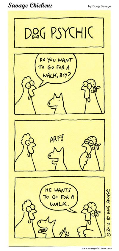 Dog Psychic