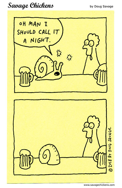 Drunk Snail