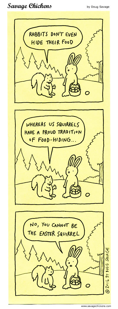 A Tough Time for Squirrels