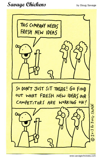 Fresh New Ideas