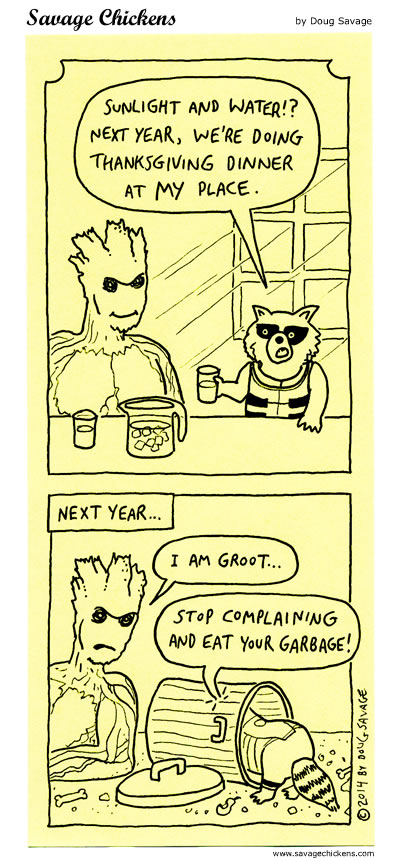 Guardians of Thanksgiving