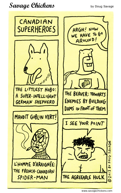 Canadian Superheroes