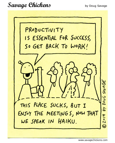Productivity is Essential