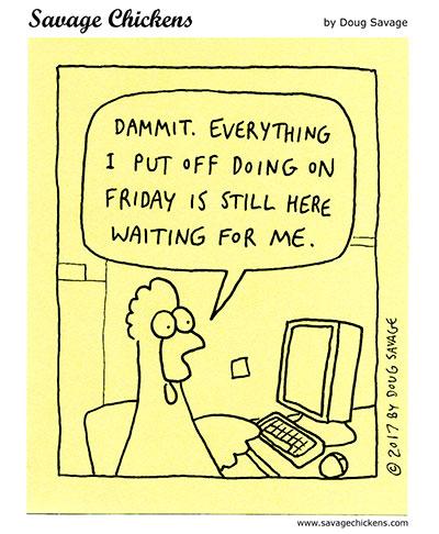 The Monday Problem