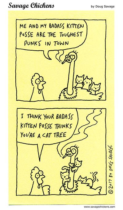 Badass Kitten Posse