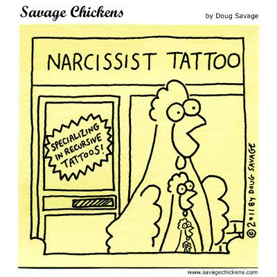 Narcissist Tattoo