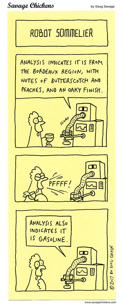 Robot Sommelier