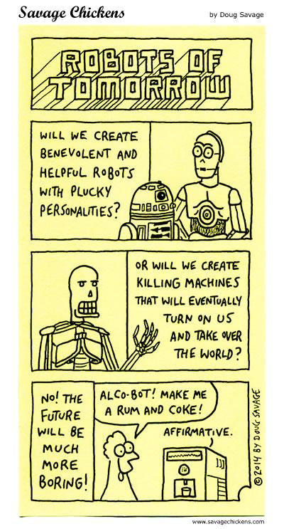 Robots of Tomorrow