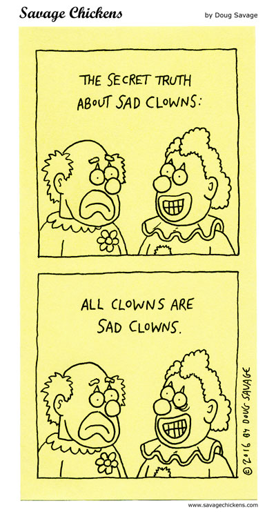 Sad Clowns