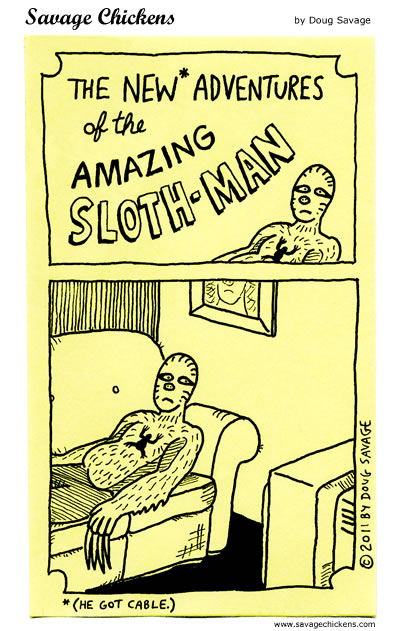 The Amazing Sloth-Man