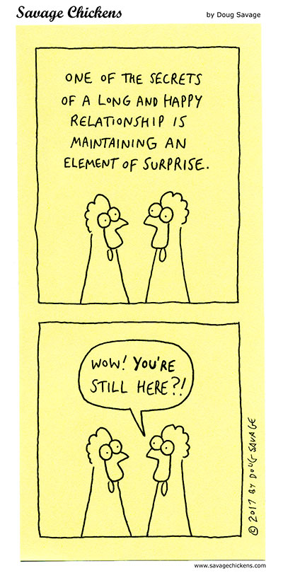 An Element of Surprise