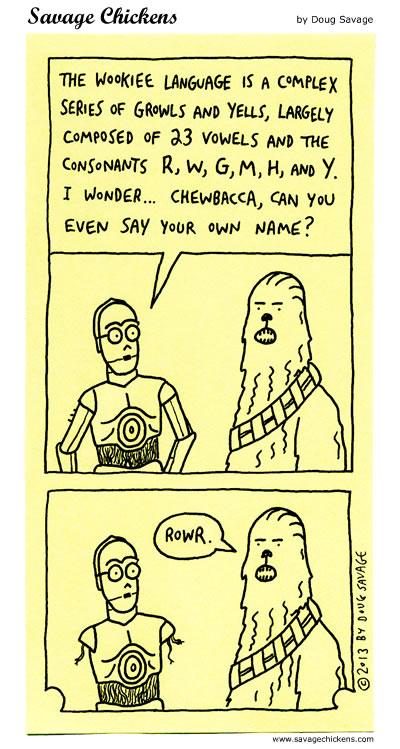 Wookiee Language