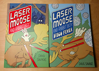 Laser Moose and Rabbit Boy 1 and 2