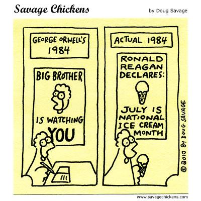 Savage Chickens - 1984