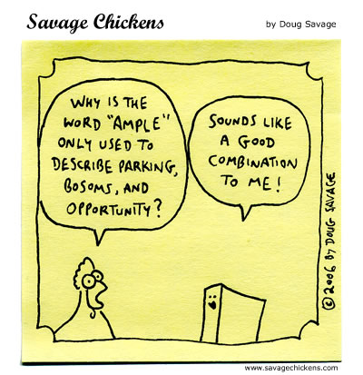 Savage Chickens - Ample