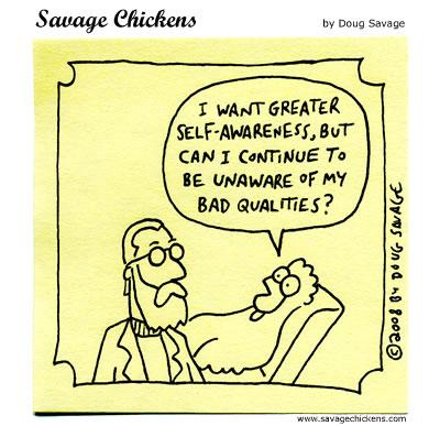 Savage Chickens - Awareness