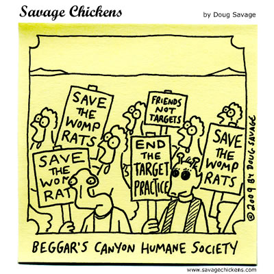 Savage Chickens - Save the Womp Rats