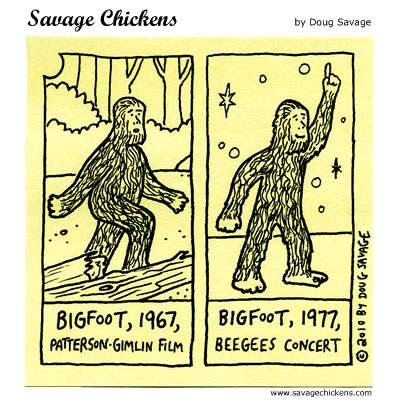 Savage Chickens - Bigfoot