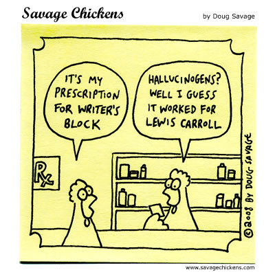 Savage Chickens - Pharmacy