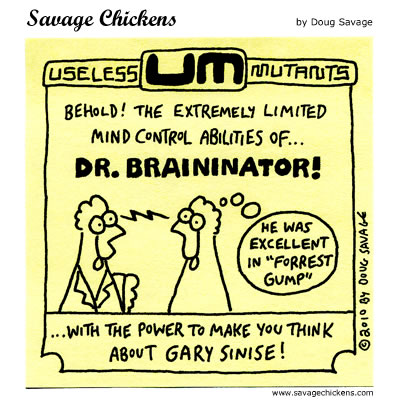 Savage Chickens - Dr. Braininator