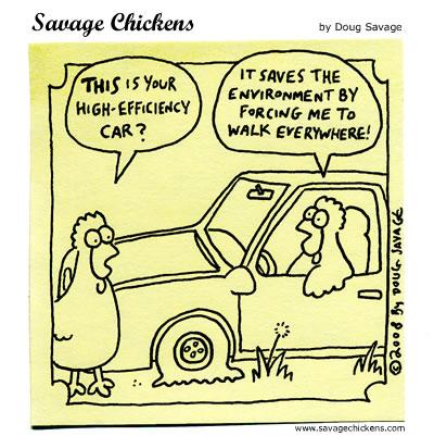 Savage Chickens - High-Efficiency