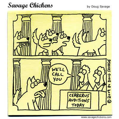 Savage Chickens - One Day In Ancient Greece